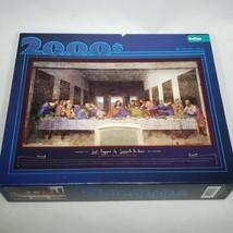 "2000 Piece Last Supper Jigsaw Puzzle Leonardo da Vinci Buffalo Games 38""... - $21.95"