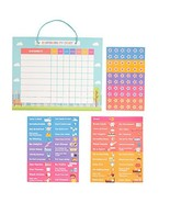 Good Behavior Chart | Chore Chart | Magnetic Responsibility Chart for Wa... - $48.99