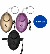 LED Mini Safety Security Alarm Keychain Personal Panic Emergency Attack ... - $9.49