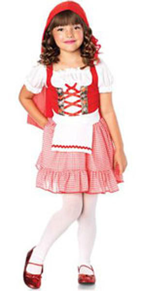 Primary image for Girls Darling Miss Red Halloween Costume Size 8-10 Years