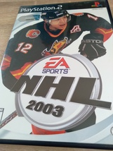 Sony PS2 NHL 2003 image 1