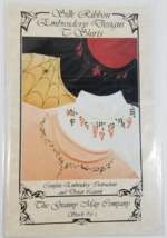 An item in the Crafts category: Silk Ribbon Embroidery Designs for T-shirts