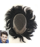 French Lace with  PU Back & Sides Double Layer Lace Front Men's Hair Wig... - $113.30