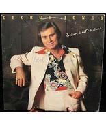 "Epic #JE-36586 - George Jones - ""I Am What I Am"" - $3.95"