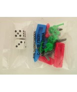 Set of Monopoly Dice and Mover Pawns - $4.75