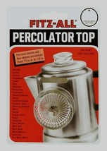 """FITZ-ALL Glass Replacement Percolator Top Clear Universal Coffee 13/16"""" ... - $6.22"""