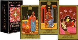 Egorov Tarot Deck by Piatnik Gold Edition New  - $37.26