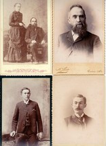 Corliss Family Photos - Moses Woodbury, Octavia Haynes, Benjamin W. (Maine) - $69.50