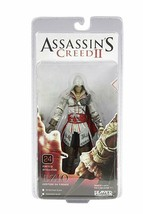 "Neca Assassins Creed 2 Ezio Blanc Cap Jeu Vidéo 7 "" Action Figurine Joue... - $96.52"