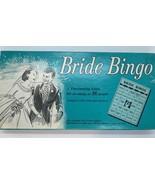 Vintage Bride Bingo Board Game Leister Game Co. 1957 Ohio - $7.87