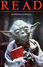 Yoda   read and the force is with you   1983   library poster small thumb200