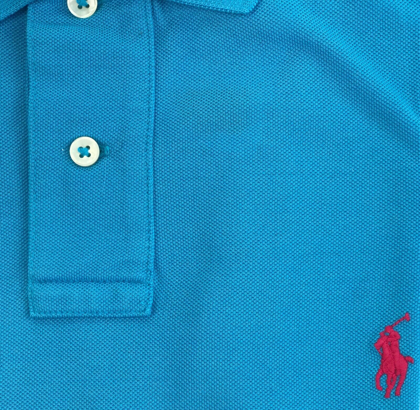 Ralph Lauren Mens Polo Shirt Classic Fit Size Small Light Blue