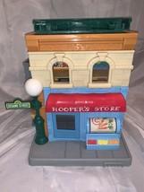 Hasbro Sesame Street Mr Hoopers Store 123 Neighborhood House Playset Tra... - $49.50