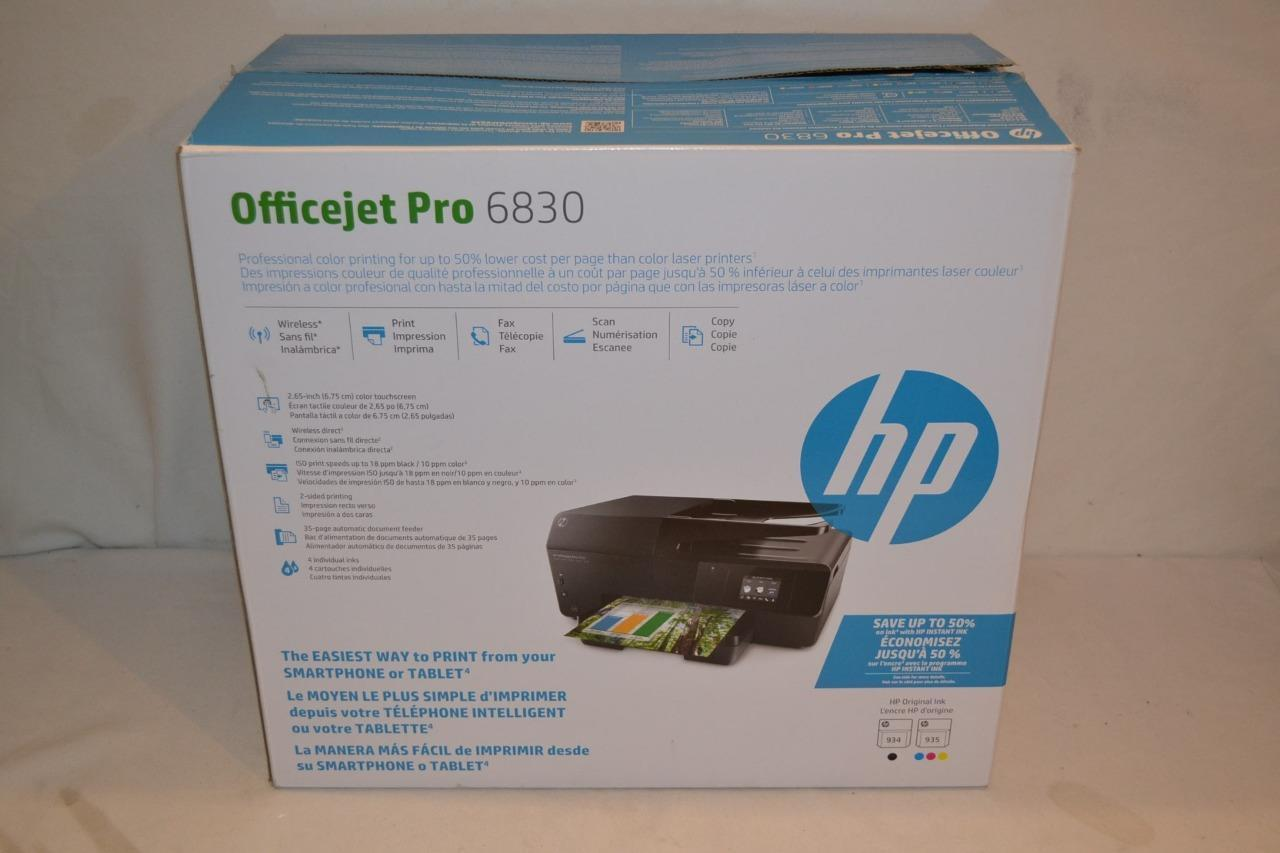Hp Officejet Pro 6830 All In One Wireless and 50 similar items