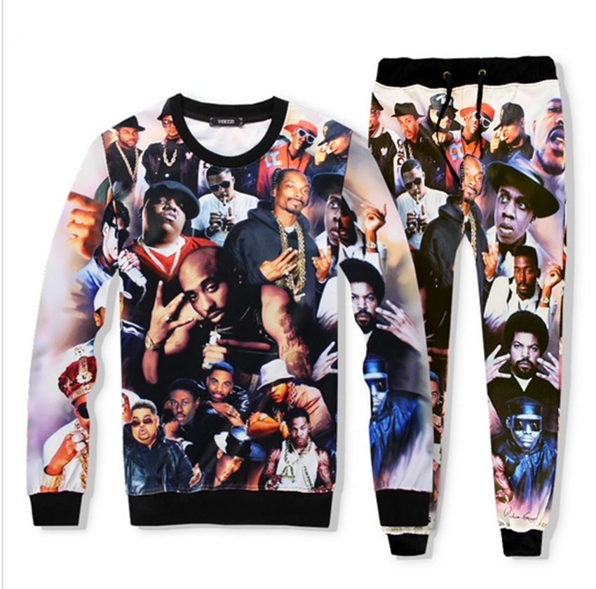 Primary image for high-quality Sweatshirts 2018 new fashion Brand clothing harajuku 2pac tupac thu
