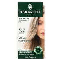 Herbatint Haircolor Kit Ash Swedish Blonde 10C - 1 Kit - $18.99