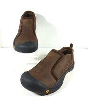 Keen Slip On Casual Sport Shoes Loafers Rubber Toe Men's Size 5 Brown - $21.46