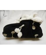 New Carnival ladies Sherpa Booty Slippers osfm non slip gripper bottoms  - $8.90