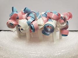 12ct. Blue/Pink/White Ribbon Cake Picks - $2.99