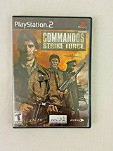 Commandos Strike Force (Sony Playstation 2 PS2) - $8.90