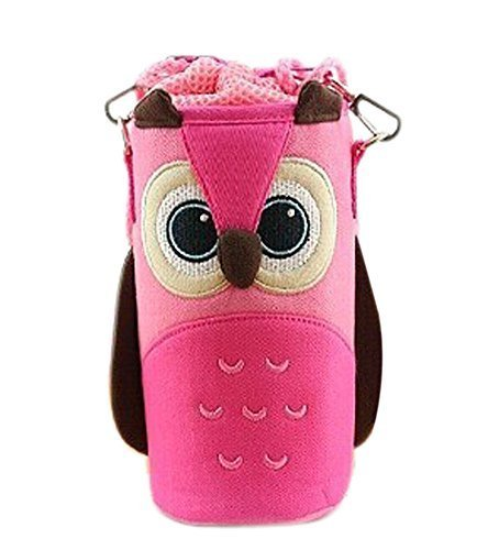 Lovely Baby Bottle Messenger Bag/Keep Warm (2299CM),Pink Owl