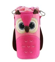 Lovely Baby Bottle Messenger Bag/Keep Warm (2299CM),Pink Owl