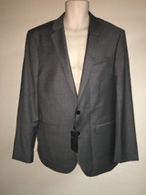 Express Blazer Suit Jacket Mens 42 Reg Gray Producer Modern Fit NWT - $52.25
