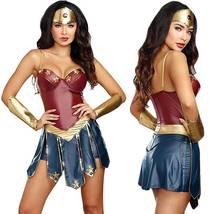 Wonder Woman Superhero Cosplay Deluxe Adult Costume