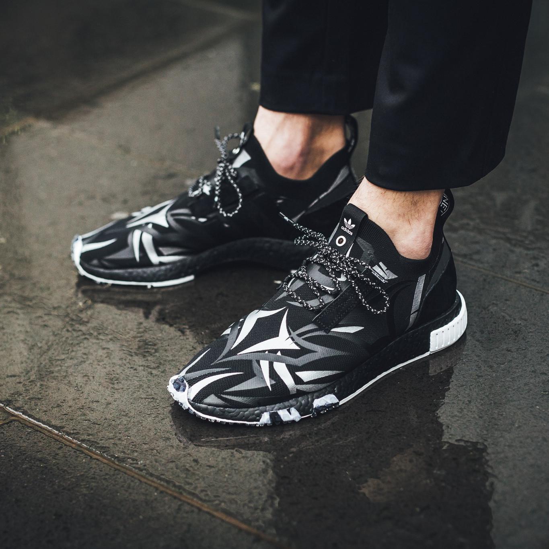 quality design 49109 40822 ... authentic adidas unisex springblade razor shoes adidas consortium x  juice nmd racer juice black white men