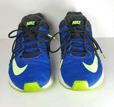 NIKE AIR ZOOM STREAK 5 MENS RUNNING SHOES MENS Sz 7 (641318 430) Black Blue - $32.71