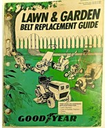 Vintage Goodyear Lawn & Garden Belt Replacement Guide 1983 1984 Parts Ca... - $17.90