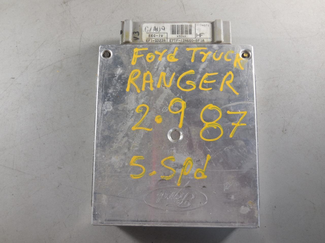 87 88 89 Ford Ranger 2 9L 5 Spd Ecu Ecm and 50 similar items