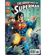 The Adventures of Superman Comic Book #536 DC Comics 1996 NEAR MINT NEW ... - $3.50