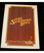 Sunshine Boys theater program Neil Simon Jack Albertson Sam Levene Alan ... - $12.99
