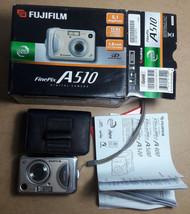 Fujifilm FinePix A Series A510 5.1 MP Digital Camera. Boxed + Instructions - $50.61