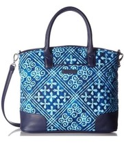 VERA BRADLEY DAY OFF CROSSBODY BAG Purse Small Handbag Cuban Tiles NWT - $54.40