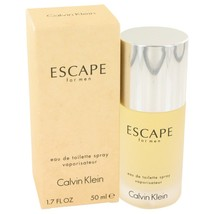 Escape By Calvin Klein Eau De Toilette Spray 1.7 Oz 412987 - $33.18