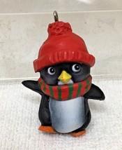 Hallmark Christmas Ornament Perky Penguin 1981 Great Shape No Box M12 - $9.41