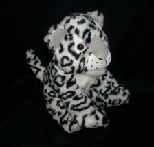2008 MATTEL BARBIE SNOW LEOPARD TALKS LIGHTS LIGHT UP STUFFED ANIMAL PLU... - $16.69