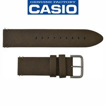 Genuine CASIO G-SHOCK Brown  Leather Watch Band Strap Pro Trek PRG-600YL... - $44.95
