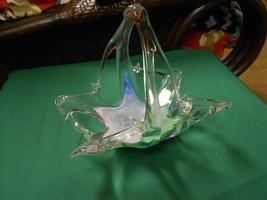 Magnificent Beautiful MURANO Art Glass BASKET #... - $27.39