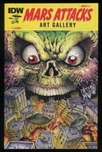 Mars Attacks Art Gallery One-Shot Comic IDW Trading Card Artwork War of ... - $40.00