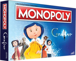 Monopoly Coraline Board Game | Based on The Film from acclaimed Studio, ... - $44.95