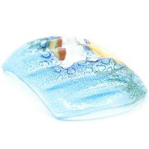 Fused Art Glass Sea Turtle Marine Ocean Design Soap Dish Handmade in Ecuador image 4