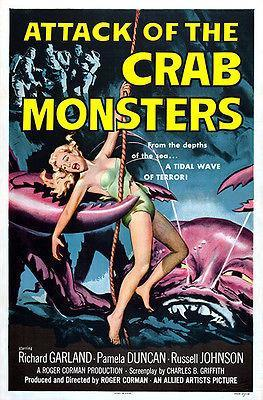 Primary image for Attack of the Crab Monsters - 1957 - Movie Poster