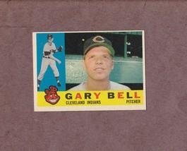 1960 Topps # 441 Gary Bell Cleveland Indians Nice Card Sharp - $3.49