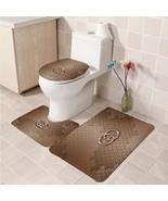 Hot Sale Gucci424 Toilet Set Anti Slip Good For Decoration Your Bathroom  - $20.09