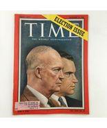 Time Magazine November 12 1956 Vol. 68 No. 20 Dwight Eisenhower & Richar... - $23.75
