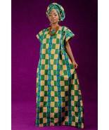 Zog etoun nguem bubu dress and matching headwrap (ESSINGAN) - £46.34 GBP