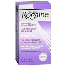 Women's Rogaine Hair Regrownth Treatment Unscented 2oz 1 Month Supply EX... - $24.97
